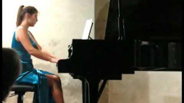 2 SONATA for piano  -  2nd mvmt