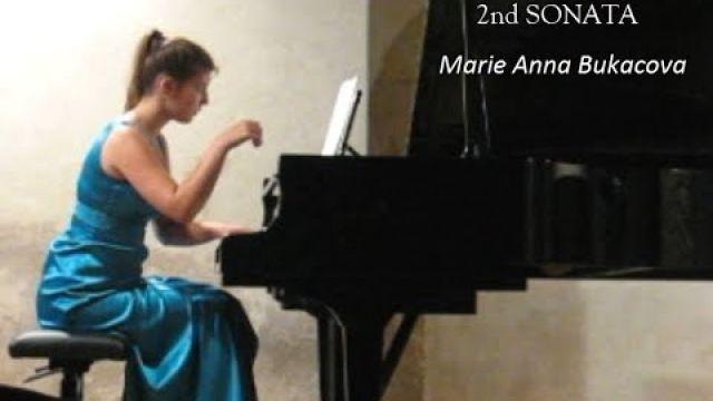 2 SONATA for piano  -  1st mvmt